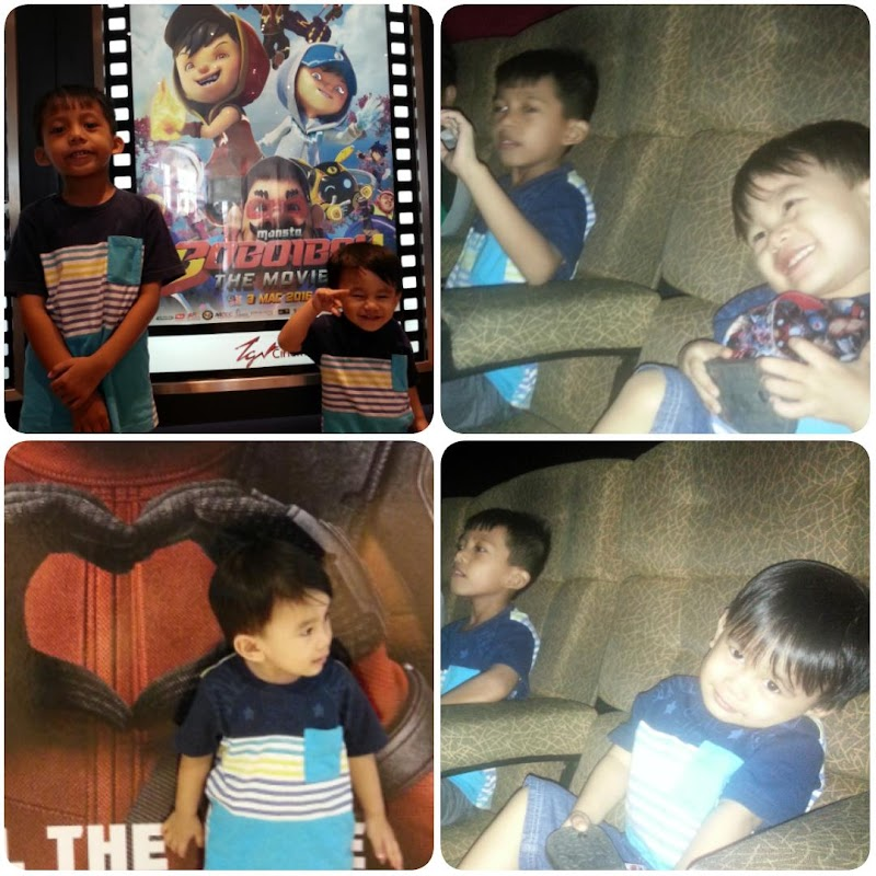 Melayan Anak-Anak Tonton Boboiboy The Movie