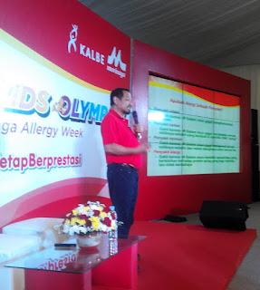 DR.dr Zakiudin Munasir, SpA(k) memaparkan tentang alergi
