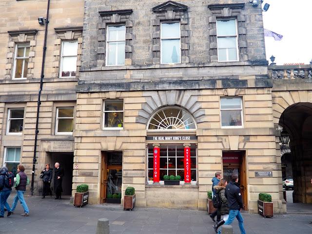 Mary King's Close, Royal Mile, Edinburgh