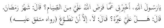 Dalil-Dalil Puasa di Bulan Ramadhan