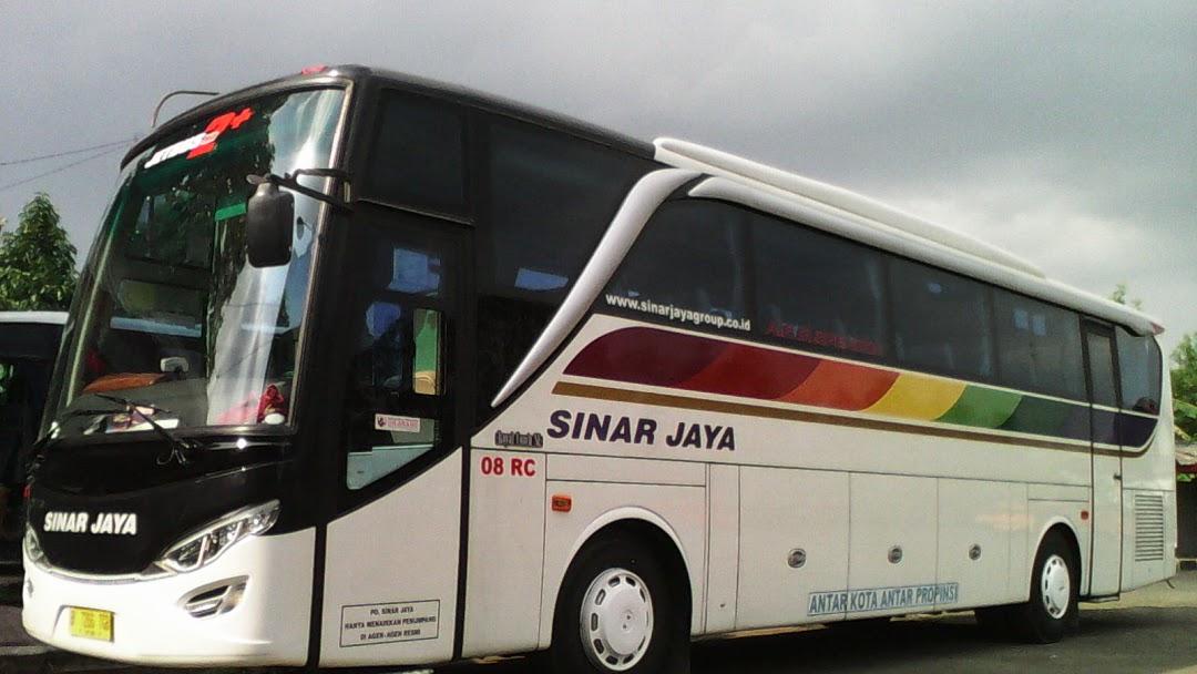 Harga Tiket Bus Sinar Jaya Lebaran Tahun 2019 Jalur Bus