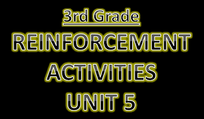 Reinforcement Activities Unit 5