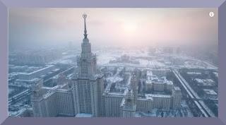 Moscou neige drone