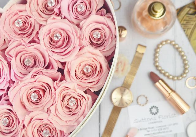 Suttons Florist Liverpool Eternity Roses Lovelaughslipstick Blog