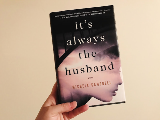 It's Always the Husband, Booksparks, book review, SRC2017, Michele Campbell