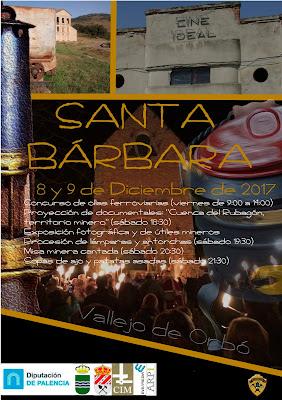 Cartel de Santa Bárbara en Vallejo 2017