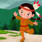 Games4King Aboriginal Girl Rescue Walkthrough