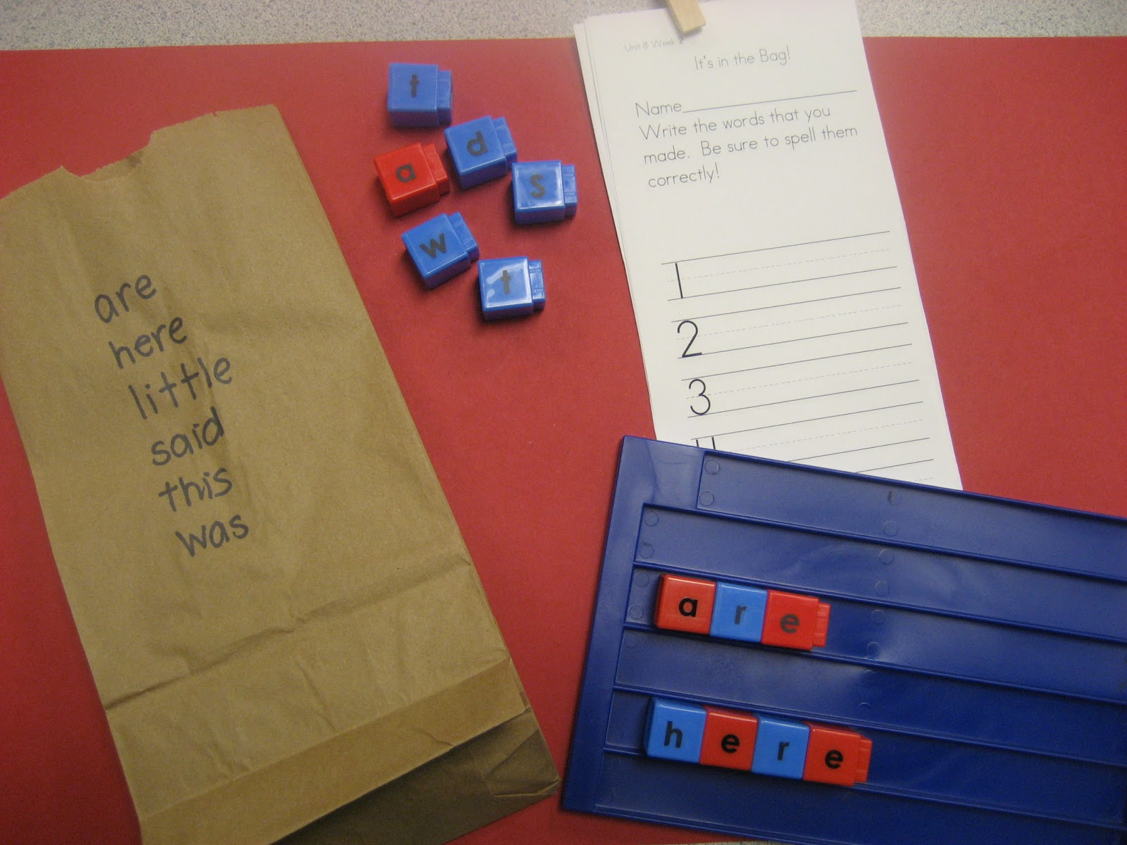 Kinder Doodles Literacy Stations For The Week Of 3 5 12