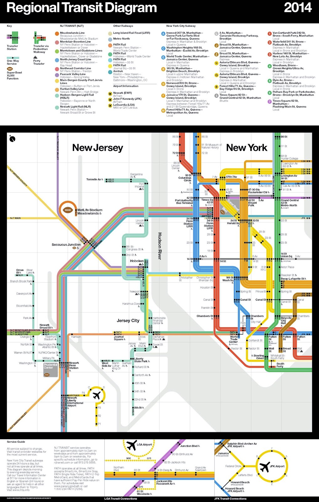 Rebuilding Place in the Urban Space A regional transit map for