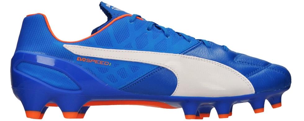 CHUTEIRAS DE OURO  Puma EVOSpeed 1.4 nas cores electric blue ... 2429436ae2c8a