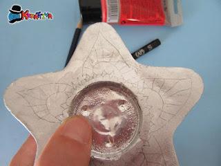 disegnare il mandala su stella