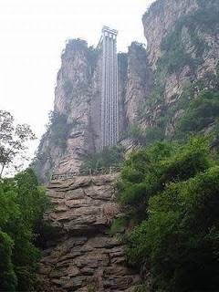 The Bailong Elevator (Zhangjiajie, China)