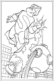 Ausmalbilder The Incredibles zum Drucken
