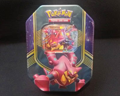 Pokemon Volcanion-EX Trading Card Tin