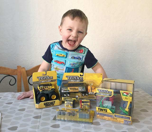 Tonka Toy review newcastle family life blog