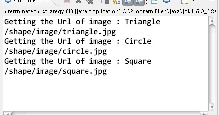A simple demonstration of Strategy Design Pattern in Java
