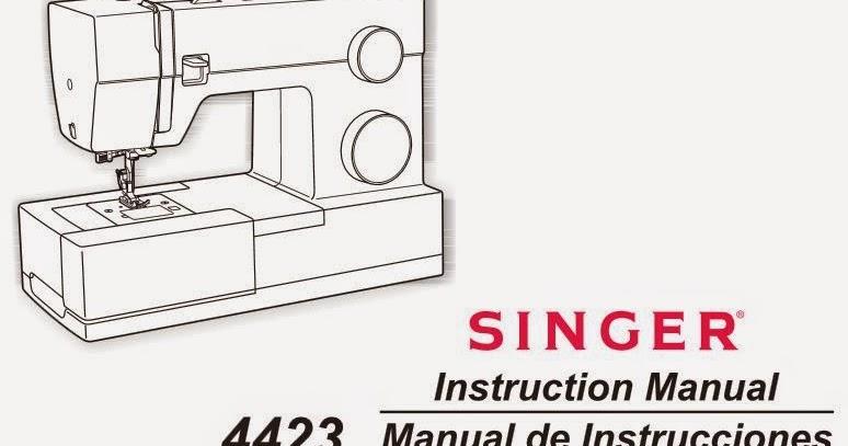 descargar manual instrucciones SINGER 4423