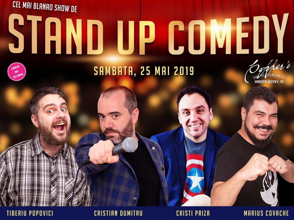 Stand-up Bucuresti Sambata 25 Mai 2019