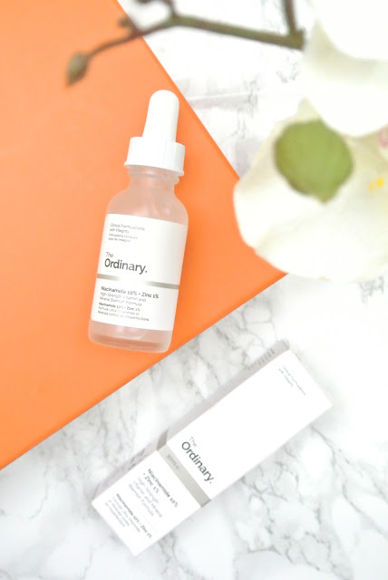 The Ordinary Niacinamide 10% + Zinc 1% Review 2017 Zine acne affordable skincare deciem