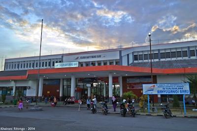 Info jadwal kereta api Surabaya-Banyuwangi