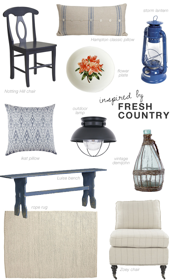 Inspiring interiors with a fresh mediterranean country vibe shopping suggestions