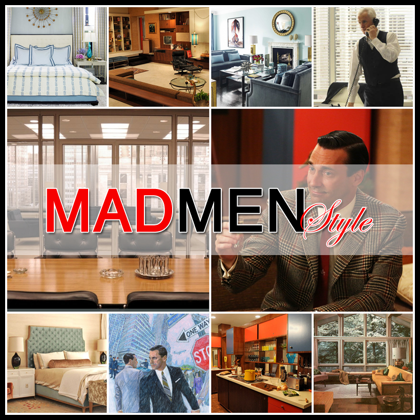 Use these Mad Men inspired design tips for the 60s vibe.