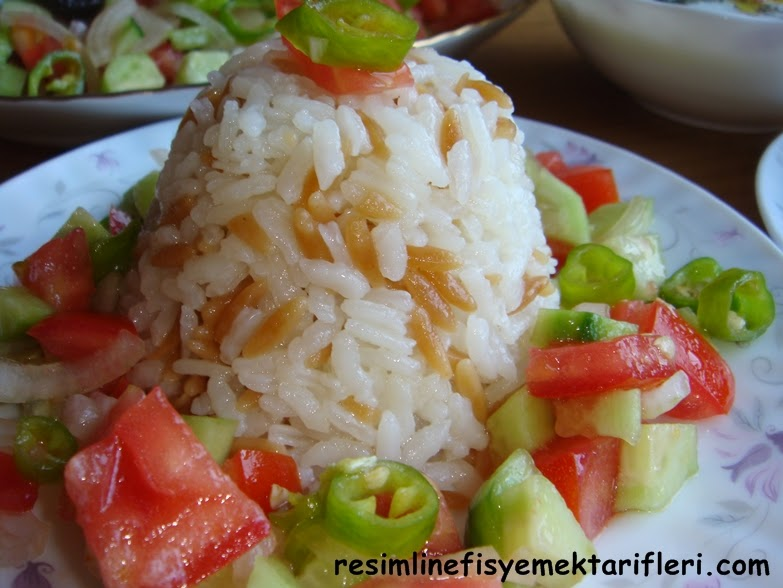 arpa şehriyeli-pirinç pilavı