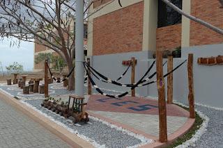 Campus de Cuité da UFCG ganha novo espaço de lazer em estilo rústico