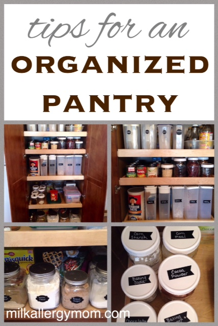 5 Tips For A Gorgeous And Organized Pantry: How To Keep A Pantry Organized