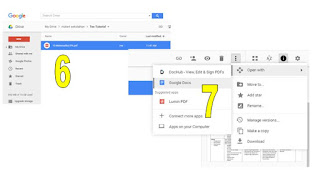 Convert PDF To Word Menggunakan Google Drive