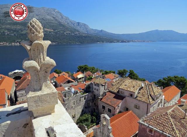 Korcula, Vistas desde Torre Catedral - Croacia