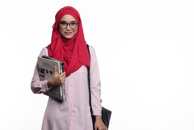 gaya busana hijab casual