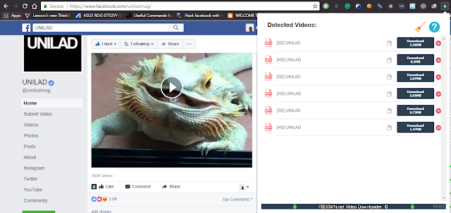 Download Facebook Videos in HD format