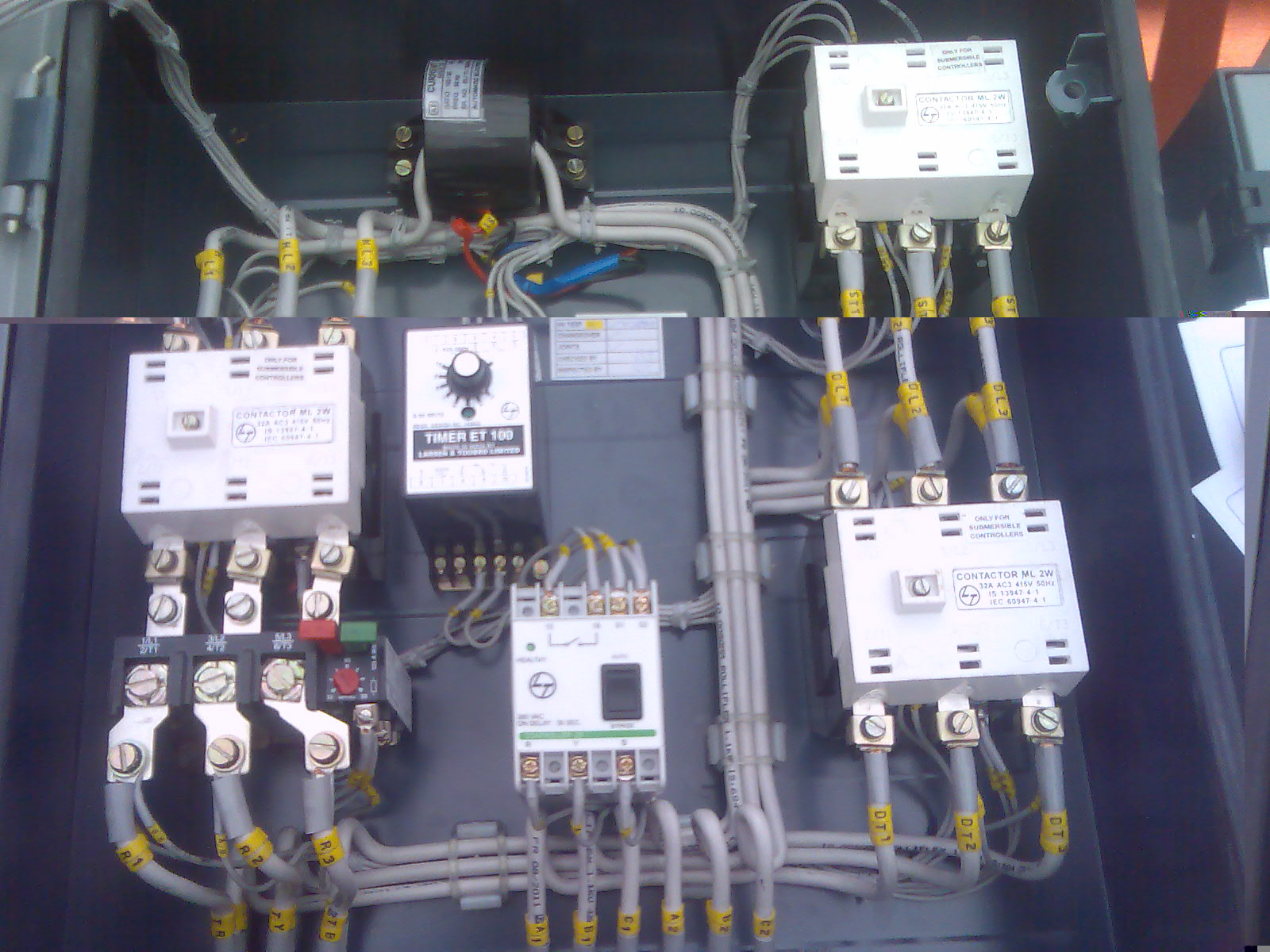 Typical circuit diagram of Star Delta starter | PLC, PLC LADDER, PLC EBOOK, PLC PROGRAMMING,