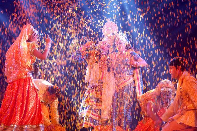 Radha Krishna Phoolon Ki Holi 2017 Full HD Images Wallpapers Download Free