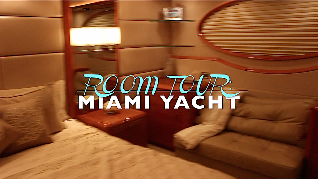 ROOM TOUR | Miami Yacht