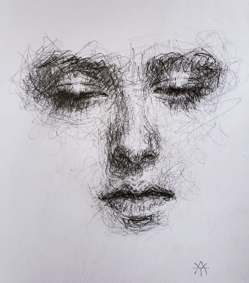 12-LY-Ahmet-Scribble-Portraits-www-designstack-co