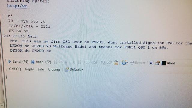 OH2DD PSK31 digimode kuso DK2OM kanssa