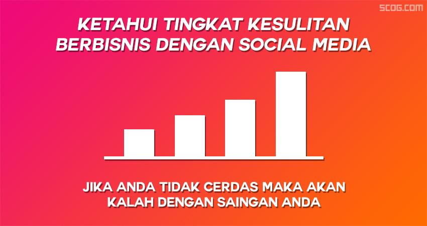 Tingkat kesulitan mencari uang di social media