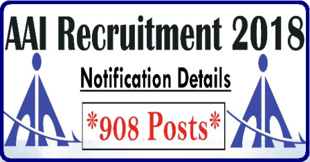 AAI Recruitment 2018 – Apply Online 908 Junior Executive Posts AAI Recruitment 2018: Notification released for 908 Manager, Jr. Executive Posts on aai.aero, eligibility here |AAI Recruitment 2018, 908 Vacancies for Junior Executive and Manager Posts | Airport Authority of India Recruitment 2018: AAI release 908 jobs vacancy | AAI Recruitment 2018 – Apply 908 Manager & Junior Executive Post | AAI Recruitment 2018 – Apply 908 Manager & Junior Executive Post | AAI- airports-authority-of-india-recruitment-2018-junior-executive-posts-apply-online-www.aai.aero AAI Recruitment 2018 /2018/07/AAI- airports-authority-of-india-recruitment-2018-junior-executive-posts-apply-online-www.aai.aero.html