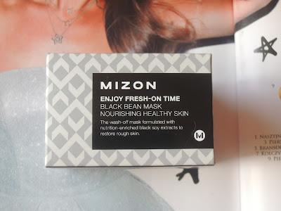 Azjatycki Piątek- Mizon Enjoy Fresh-On Time Black Bean Mask