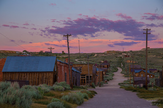 Bodie Ghost Town, waiting for nightfall