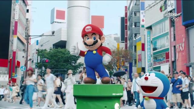 Mario Bros y los Supercampeones presentan #Tokio2020