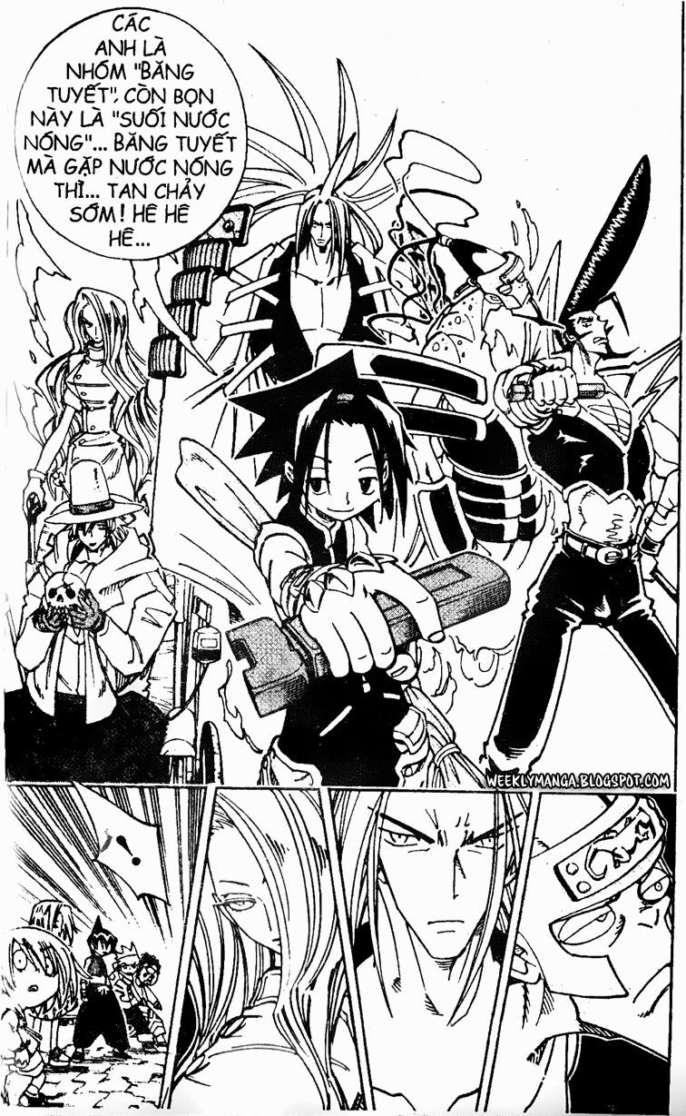 Shaman King [Vua pháp thuật] chap 128 trang 11