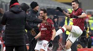 ميلان يتاهل لنصف نهائي كأس إيطاليا بعد الفوز الكبير  على فريق تورينو