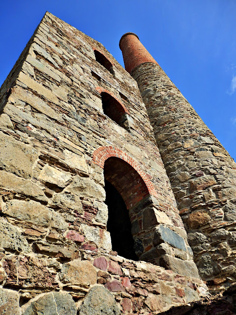 Cornish tin mine, Cornwall