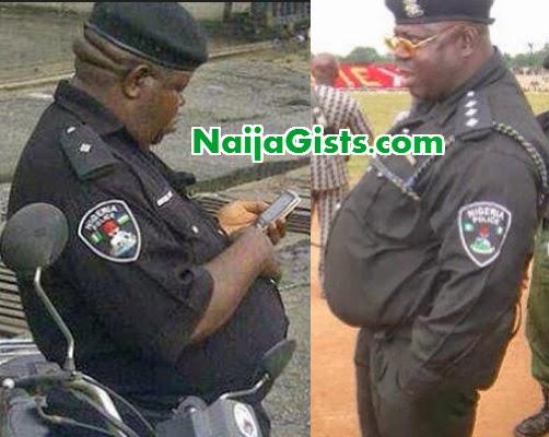 fat nigerian police