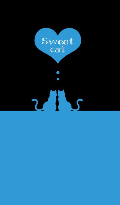 sweet cat [black&blue]
