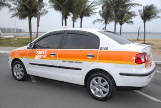 Endereços e Telefones dos pontos de Táxi em Vitória