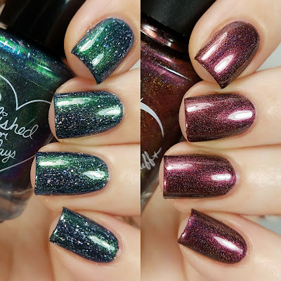 September 2017 For The Love Of Polish Box Ft. Nvr Enuff Polish Swatches and Review